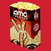 AMC - Regular Popcorn Voucher