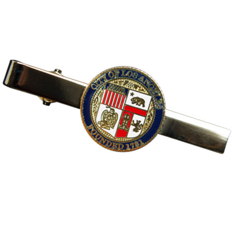 LA City Seal Tie Bar
