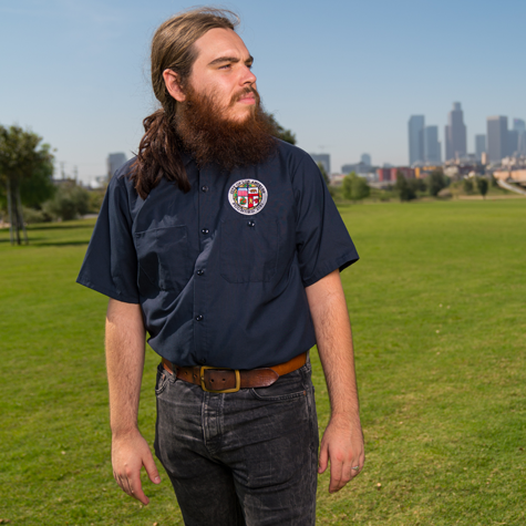 City Short-Sleeve Work Shirt