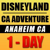 Disneyland 1-Day Tickets