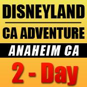 Disneyland 2-Day Tickets