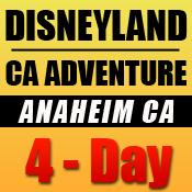 Disneyland 4-Day Tickets