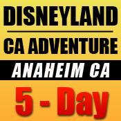 Disneyland 5-Day Tickets