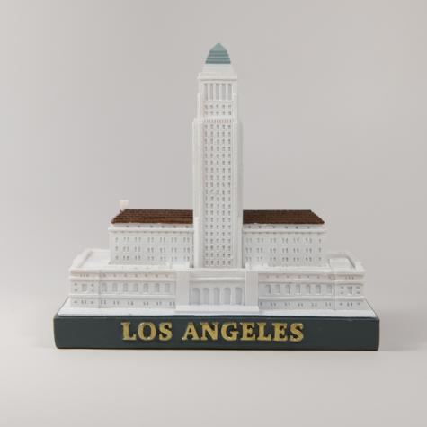 LA City Hall Figurine