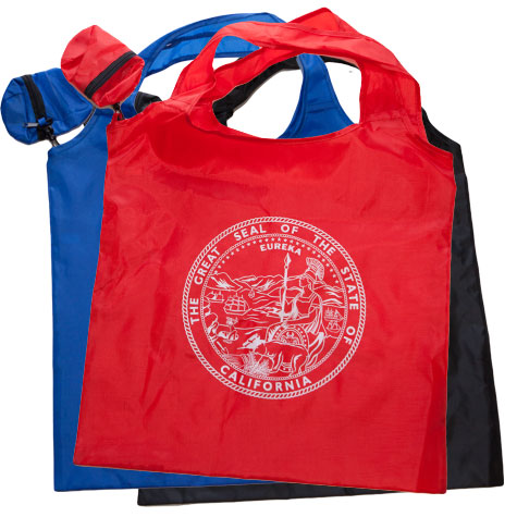 State Seal Packable Tote Bag