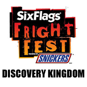 FRIGHT FEST - Six Flags Discovery Kingdom