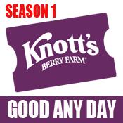 Knott's Berry Farm eTicket - Season 1