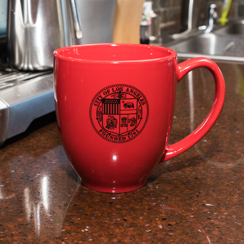 Bistro Mug w/City of LA Seal