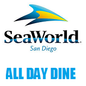 SeaWorld San Diego with All Day Dine E-Ticket