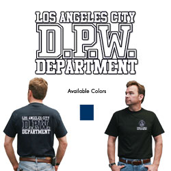 Department T-shirt-Public Works