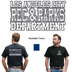 Department T-shirt-Rec & Parks
