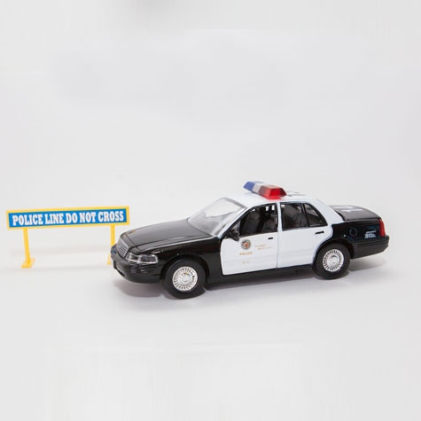LAPD Crown Vic Toy Police Car