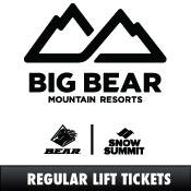 Big Bear/Snow Summit Lift E-Tickets