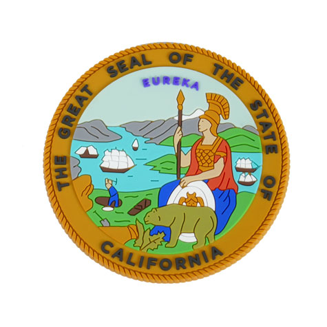 State of California Textured Magnet