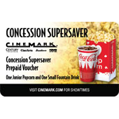 Cinemark Concessions Voucher
