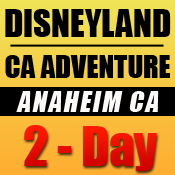 Disneyland 2-Day Tickets