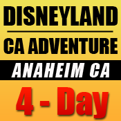 Disneyland 4-Day Tickets