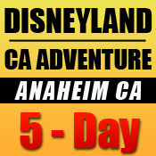 Disneyland 5-Day Tickets