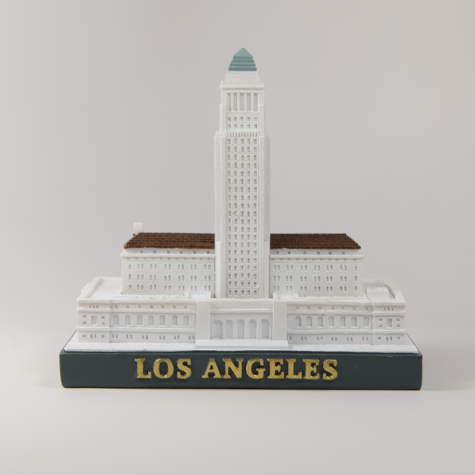 LA City Hall Figurine