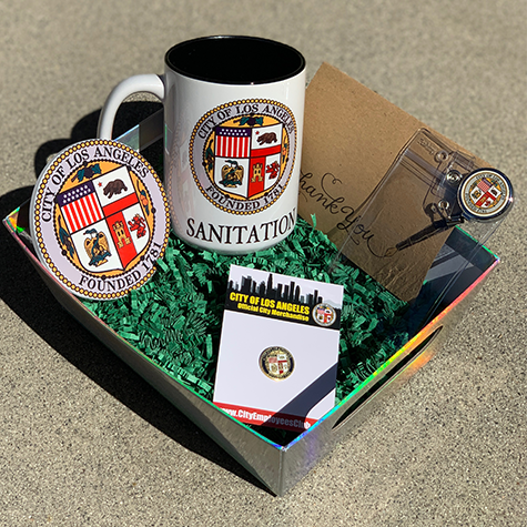 LA City Seal Customizable Department Gift Pack