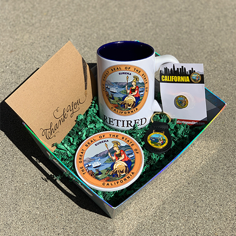 Retired - State Seal - Gift Pack