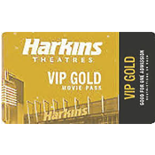 Harkins VIP GOLD Tickets