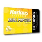 Harkins-Small Popcorn Voucher