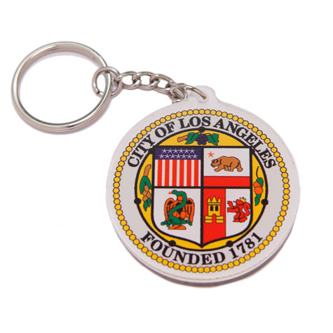 LA City Seal Key Chain