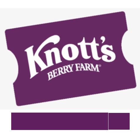 Knott's Berry Farm General Admission eTicket