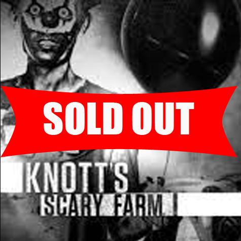 $45 Knotts Haunt eTicket