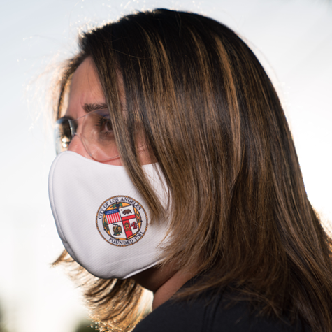 Los Angeles City Seal Mask