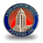 LA Hall Lapel Pin-Enamel