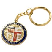 City Seal Key Chain-Enamel