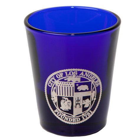1.5 oz. Cobalt Blue Shot Glass