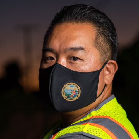 State of California Seal Mask