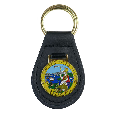 CA State Seal Key Fob