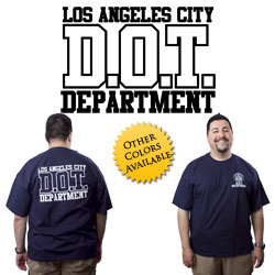 "DOT Dept. Shirt <font color=""red"">CLEARANCE</font>"