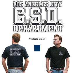 "GSD Dept. Shirt <font color=""red"">CLEARANCE</font>"