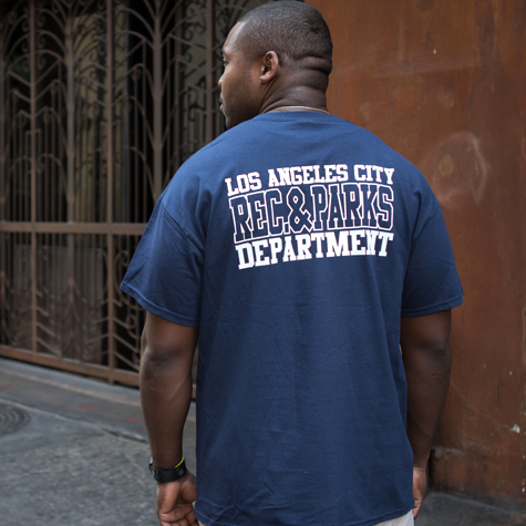 Department T-shirt-Rec & Parks