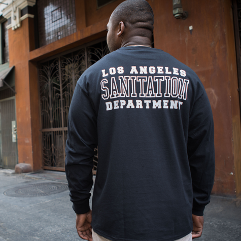 Sanitation Department Long-Sleeve T-Shirt