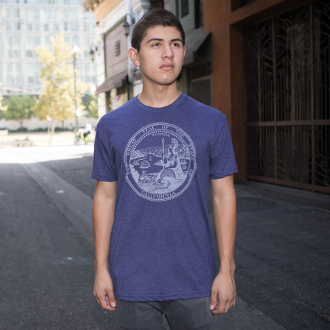 Retro California State Seal T-Shirt