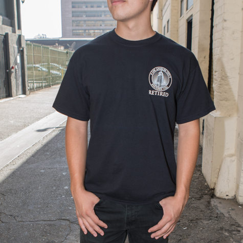 "City Seal One Color ""Retired"" T-shirt"