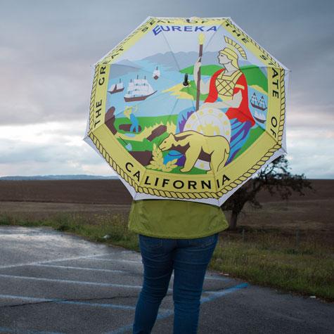 State of California Seal Classic Umbrella